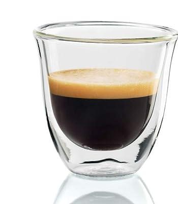 De'Longhi isolierte Espresso-Gläser, Thermogläser