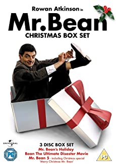 Mr Bean Christmas Box Set Dvd British Comedy Guide