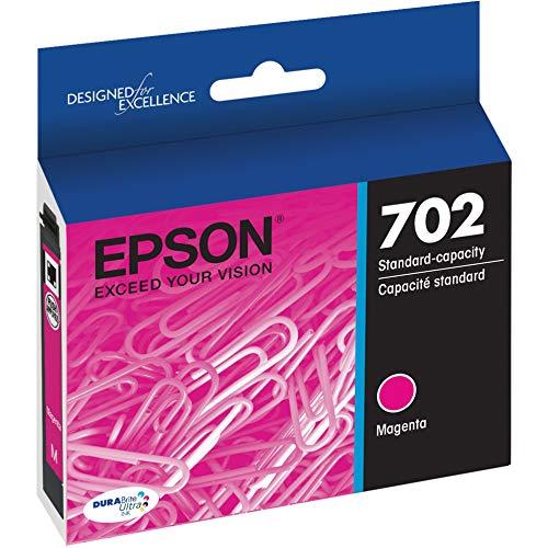 EPSON T702 DURABrite Ultra Ink Standard Capacity Magenta Cartridge (T702320-S) for select Epson WorkForce Pro Printers