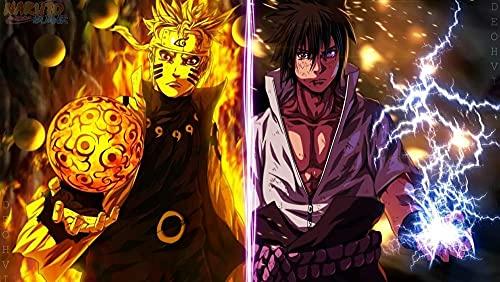 1000 Piezas De Rompecabezas De Madera Para Adultos, Decoración Del Hogar, 50 * 75 Cm, 1000 Piezas De Regalo Para Mujer/Hombre-Naruto Sasuke Naruto Akatsuki