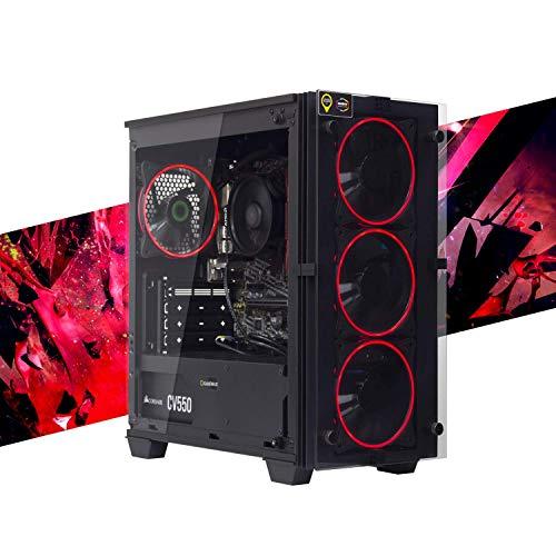 MAK OFFICE I - PC Desktop RYZEN 5 PRO 4650G 6 CORE,12 Threads,4.20GHz,SSD 240 GB + HDD 1TB, RAM 8GB 3200MHZ,COMPUTER DA GAMING,WINDOWS 10