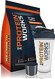 The Protein Works - Protéine Pour Maigrir - Shaker Et Cuillère Doseuse Gratuits - Fraise à la Crème - 1kg