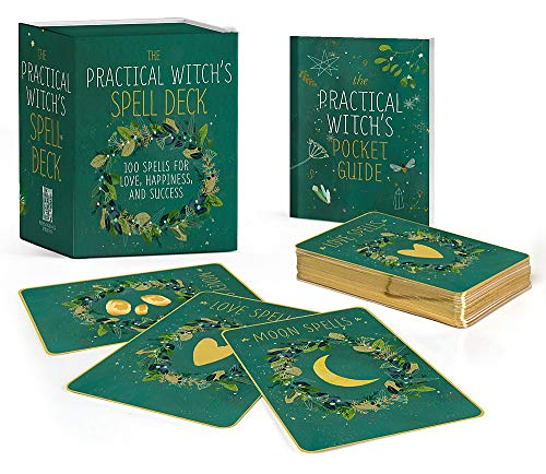 The Practical Witch's Spell Deck: 100 Spells for Love, Happiness, and Success (RP Minis)