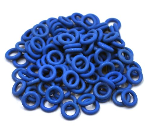 Cherry MX Rubber O-Ring Switch Dampeners Blue 40A-R - 0.4mm Reduction (125pcs)