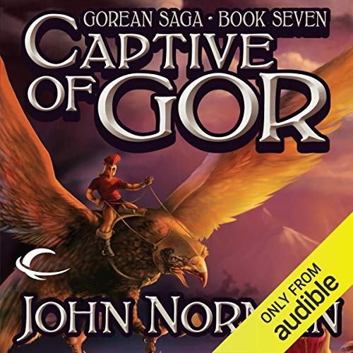 Captive of Gor audiobook cover art