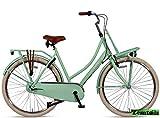 Hooptec Altec Dutch 28 Zoll Transportfahrrad 3 Gang 57 cm Mint Grün