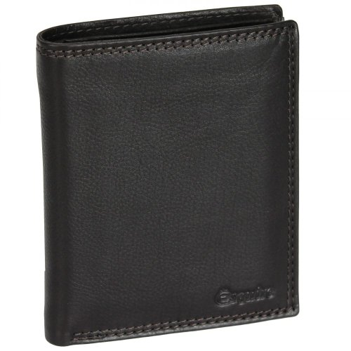 Esquire Duo Geldbörse Leder 10 cm