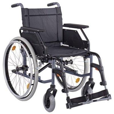 CANEO B SB48 Kombiarml.,PU anthrazit(Dietz), Handbetriebene Standard-Rollstühle