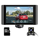 AKASO 360 Degree Dash Camera for Cars - 2K Full View Dual Dash Cam Front and...