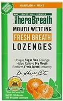 ドライマウストローチ 亜鉛 マンダリンミント味 100粒 トローチ TheraBreath[海外直送品]