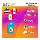 travSIM – AT&T EE.UU. Tarjeta SIM 10 Días - 22GB 3G 4G LTE Datos Móviles con Llamadas y Textos Ilimitados - Tarjeta SIM AT&T EE.UU. Estados Unidos (También Funciona en Canadá y México)