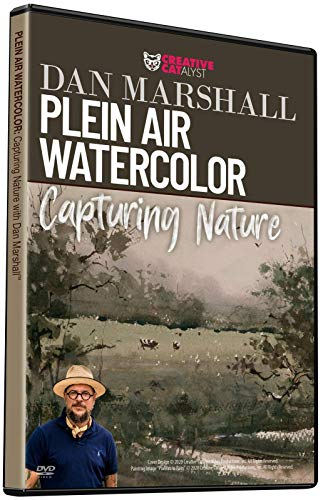 PLEIN AIR WATERCOLOR: CAPTURING NATURE WITH DAN MARSHALL : Learn New Skills from a Master, Art Improvement, Art Instruction, Art Education, Become a Better Artist. Art Class
