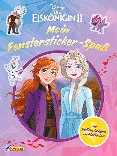 Disney Die Eiskönigin 2: Mein Fenstersticker-Spaß: Ausmalseiten mit 4 Stickerseiten mit Fenstersticker-Motiven aus dem neuen Kinofilm (Disney Eiskönigin)