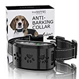 HVRSTVILL Advanced Bark Collar, Anti Bark Collar for Small Medium Large Dogs, Stop