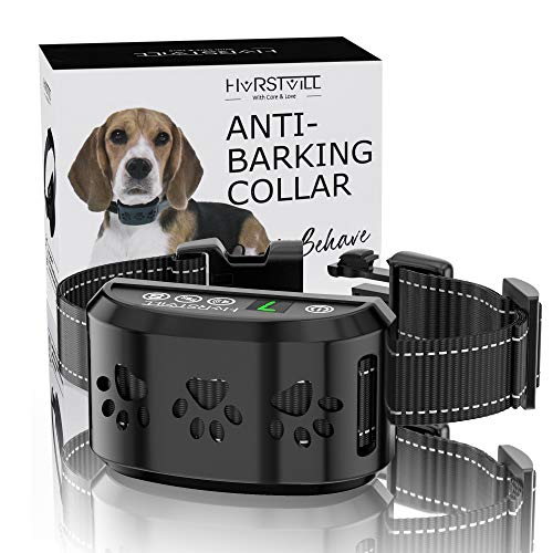 HVRSTVILL Advanced Bark Collar, Anti Bark Collar for Small Medium Large...