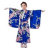 sunnymi  Mädchen Kleid, Kleinkind Kinder Baby Outfits Kleidung Kimono Robe Japanisches Traditionelles Kostüm