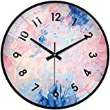 Reloj de pared grande para cocina Sala de estar Dormitorio Oficina Baño Reloj de pared Reloj de pared matemático Número 9 Reloj de matemáticas Reloj de pared Ecuación matemática El reloj de mulas Arte