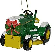 Kurt Adler John Deere 1963 Model 110 Tractor With Wreath Christmas Ornament