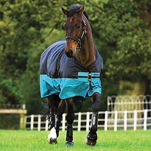 Amigo Horseware Mio Medium Turnout Blanket 75 Black by HORSEWARE PRODUCTS, LTD