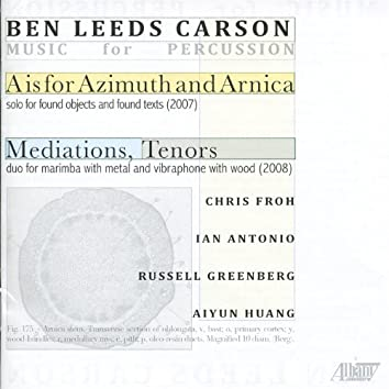 Ben Leeds Carson: Music for Percussion