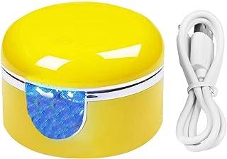 FiedFikt - Mini lámpara de uñas de gel UV con cable de datos