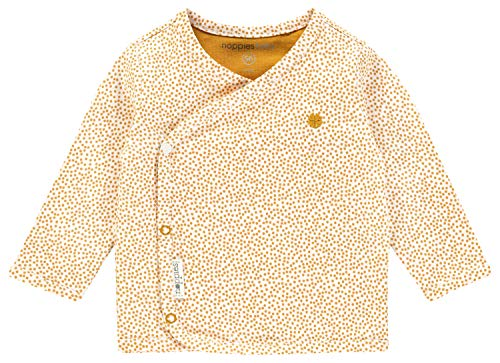 Noppies Baby-Unisex U Tee ls Hannah AOP T-Shirt, Gelb (Honey Yellow C036), 62