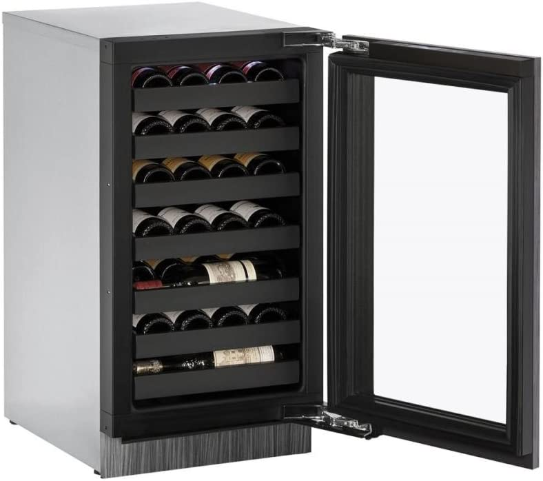 U-Line U3018WCINT00A Built-in Wine Steel Outlet sale feature Stainless Max 90% OFF Storage 18