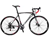 Eurobike Road Bikes 700C Wheels 54cm Frame 21 Speed (30mm)