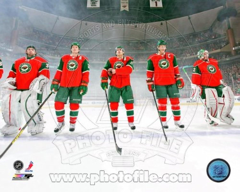 Minnesota Wild 2013 NHL National Anthem Photo 8x10