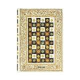 Paperblanks Agendas 12 Meses 2020 Aureo | Apaisado | Midi (130 × 180 mm)