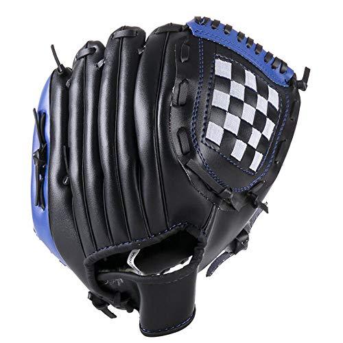 野球 グローブ DCTONG 軟式 一般用 オールラウド 内野手 右投げ キャッチボール 初心者 衝撃吸収パッド 内蔵 少年 11.5インチ ブルー