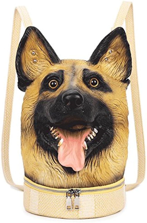 ZHANGOR ZHANGOR ZHANGOR 3D Tier Hundekopf Rucksack Casual Rucksack Reisetasche Jugend Mädchen Junge Geschenk Tasche B07CVYFNCK | Spielzeug mit kindlichen Herzen herstellen  a661e6