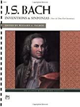 J.S.Bach - Inventions and Sinfonias: Two- and Three-Part Inventions (Alfred Masterwork Edition)