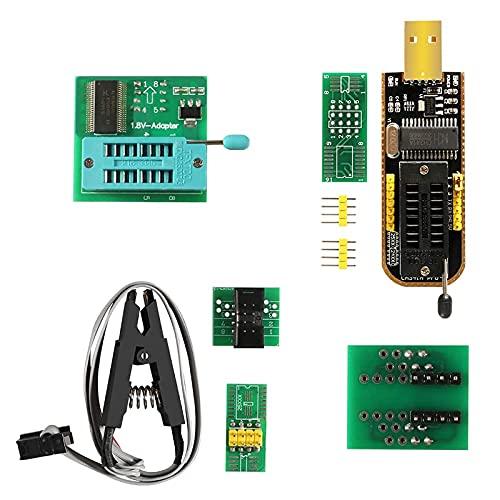 SOIC8 SOP8 Testclip-programmeurmodule DIY KIT Flash BIOS CH341A EEPROM 24-25 Serie voor 2 5CXX / 24CXX Test clips voor EEPROM 93CXX (Color : Set 5)
