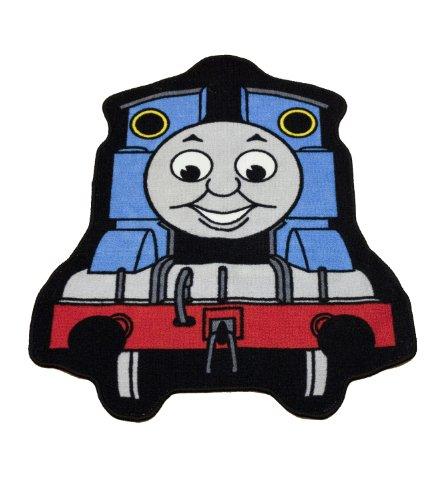 Character World Teppich in Form von Thomas, die kleine Lokomotive