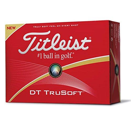 Titleist DT TruSoft Lot de 12balles de golf 2016, blanc