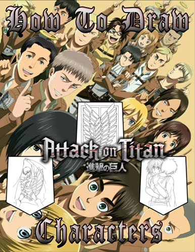 attack on titan drawing book - 7