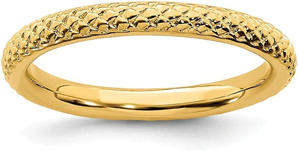 Roy Rose Jewelry shop Sterling Silver Expressions Gold-Plat Stackable Free Shipping Cheap Bargain Gift