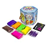 Plastilina modelada 70031 Soft Knete Create Fun colgante niños...