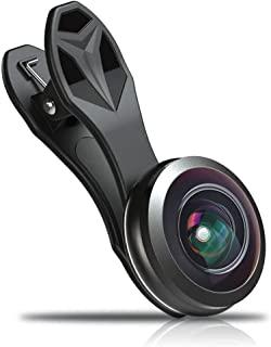 ZXASDC Lens for Universal Mobile Phones 238° Fisheye Phone Lens, Android and iOS Most Smartphones and Tablets for Bird-Watching Wildlife Travel Concert Sports etc