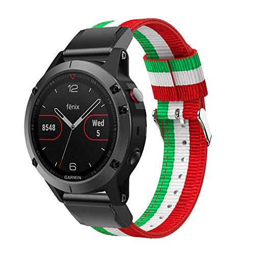 Great Deal! DKEnjoy Nylon Quick Fit Sports Wrist Band Replacement Watch Strap Bracelet Compatible fo...