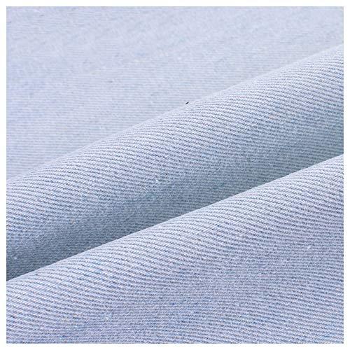 stretch stoff Gewaschener Jeansstoff Weicher Stoff Aus 100% Baumwolle Dicker Mantel Hose Hemd Schürze Handgefertigtes DIY-Nähen Dicker Jeansstoff Farbe: Saphirblau Klar(Size:1.5M*3M,Color:Klares Blau)