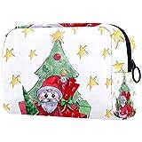 Bolso del maquillaje del viaje del estilo de la Navidad/bolso del embrague/bolso cosmético/bolso del maquillaje/bolso del tocador