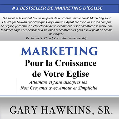 Page de couverture de Marketing pour la Croissance de Votre Eglise [Marketing for the Growth of Your Church]