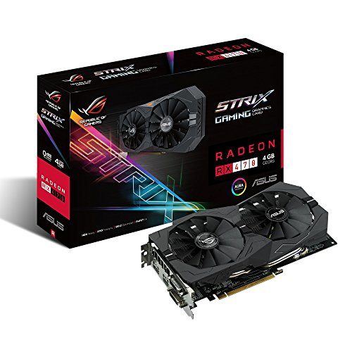 ASUS ROG Strix Radeon Rx 470 4GB DP 1.4...