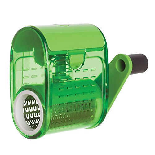 Fante's Rotary Cheese Grater, The Italian Market Original Since 1906, Green