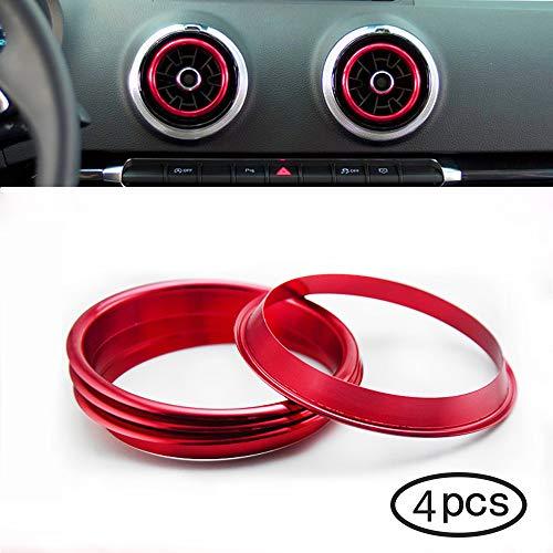 Freeauto Aire acondicionado cubierta de anillo de salida de aire cubierta de...