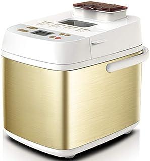 WZHZJ Machine à pain en acier inoxydable, machine à pain programmable de 18 po avec distributeur de fruits à coque, réglag...