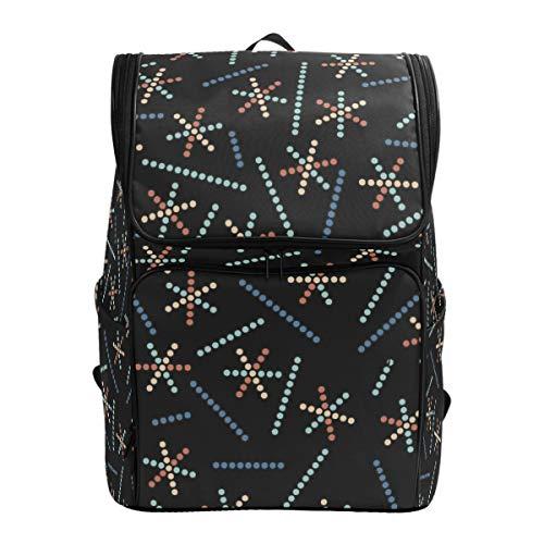 Fantazio Art Dots Sac à Dos pour Ordinateur Portable, Voyage, randonnée, Camping, décontracté, Grand Sac à Dos pour l'école