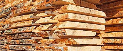 2 cm stark x 25 cm breit x 100 cm lang Zirbenholz roh sägerau Bastelholz Zirbe Schnitzholz Zirbelkiefer Deko Zirbenbrett Zirbe Brett Duft